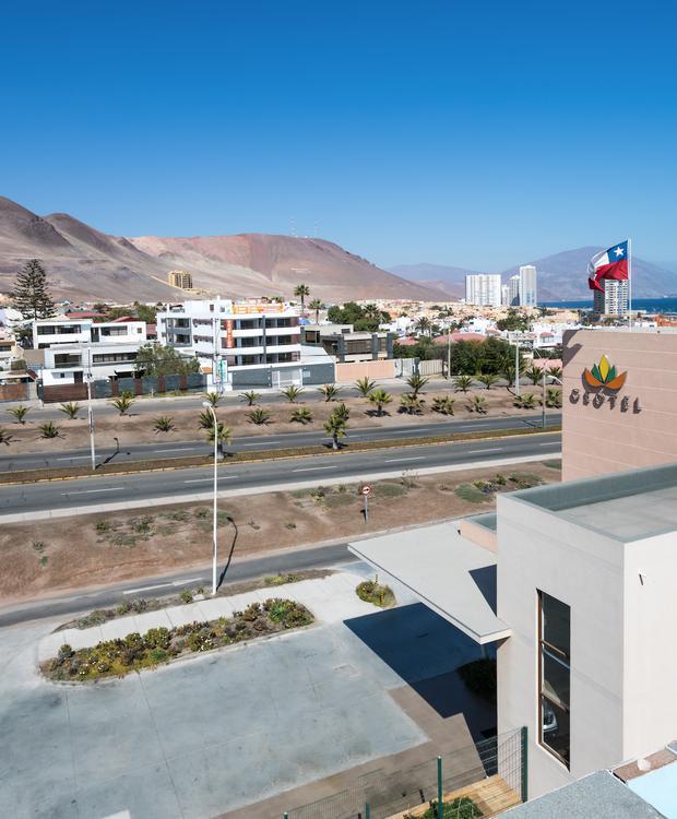 Fachada Geotel Geotel Antofagasta Antofagasta