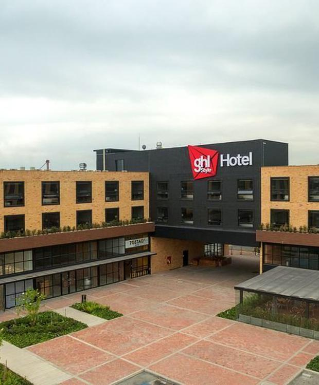 Fachada GHL Style Hotel Bogotá Occidente Bogota