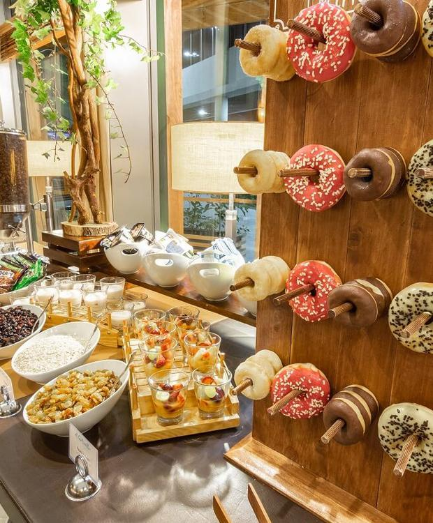 Buffet de café da manhã Sonesta Hotel Osorno Osorno