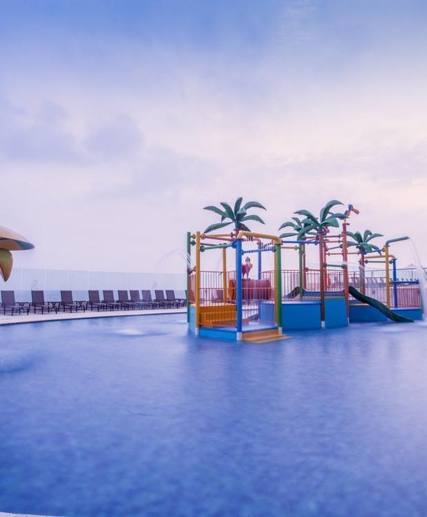 Piscina para crianças Hotel GHL Relax Corais de Indias Cartagena das Índias