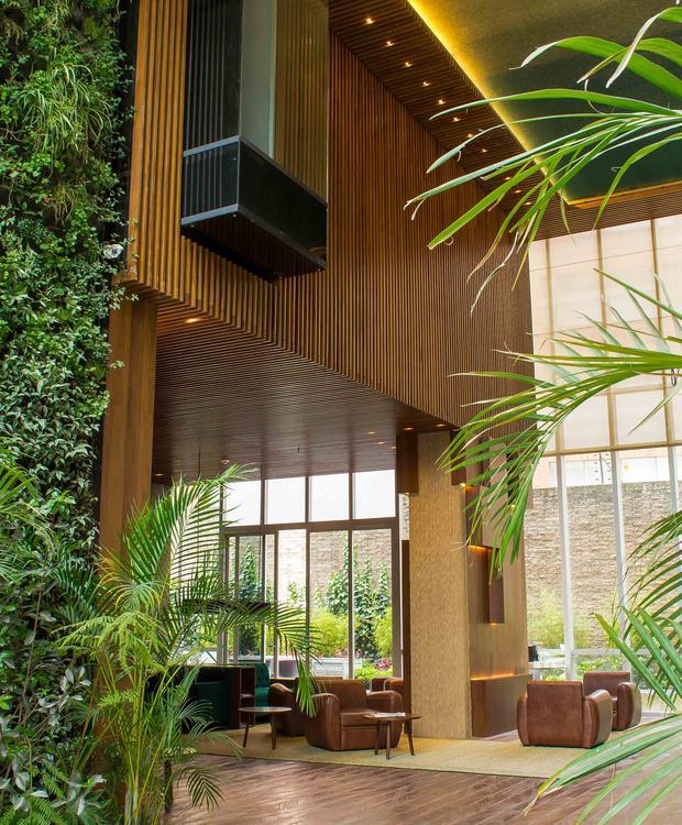 Lobby Bioxury Hotel Bogota