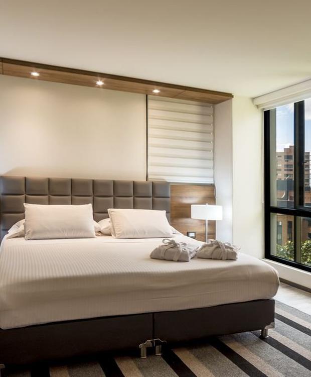 Quarto executive luxury GHL Hotel Portón Medellín Medellín