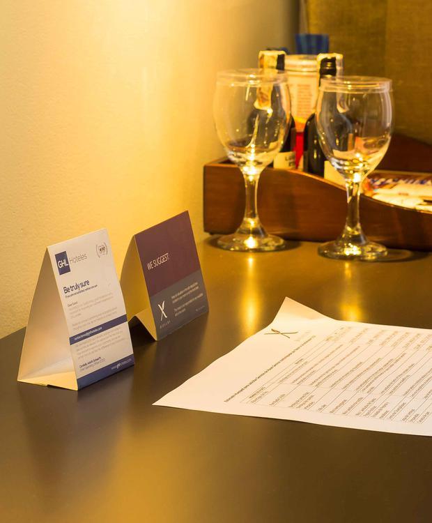 detalle Bioxury Hotel Bogota